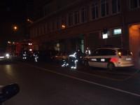 fuego en el centro civico