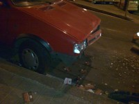 otro coche afectado