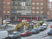 excavadora / afopress