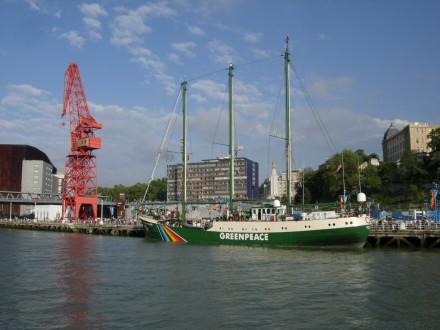 rainbow warrior bilbon 2009 / foto txomin