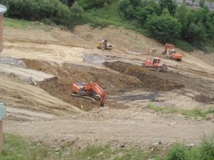 las excavadoras / foto angel R.
