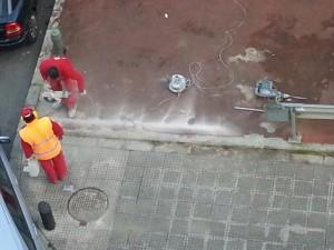 obreros trabajando Maribi argazkia