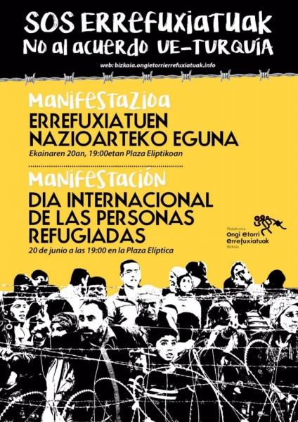 Cartel Manifa 20-6-16 Refugiados