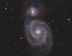 M-51 Observatorio Astronomico El Maestrat cod. J19. Felipe Peña