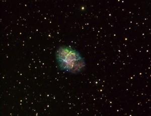 M-1 Observatorio Astronómico El Maestrat cod. J19 combinando filtros nebulares. Felipe Peña