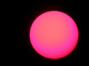 Protuberancias del Sol. Observatorio Astronómico El Maestrat cod. J19 Eliseo Bellés y Felipe Peña