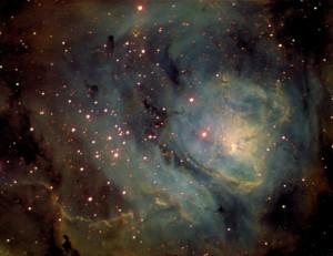 M-8 Observatorio Astronómico El Maestrat cód. J19 Felipe Peña