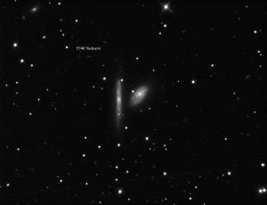 NGC-4298 NGC-4302 Observatorio Astronómico El Maestrat cód. J19 Felipe Peña