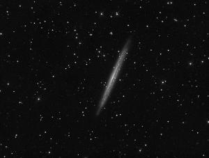 NGC-5907 Observatorio Astronómico El Maestrat cód. J19 Marcos Ituraz / Felipe Peña