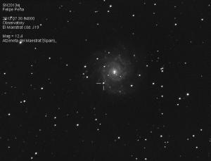 SN2013ej Observatorio Astronómico El Maestrat cód. J19 Felipe Peña 30/07/2013