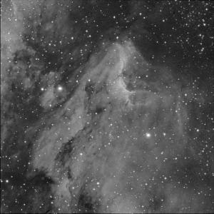 Nebulosa del Pelícano Observatorio Astronómico El Maestrat cód. J19 Felipe Peña